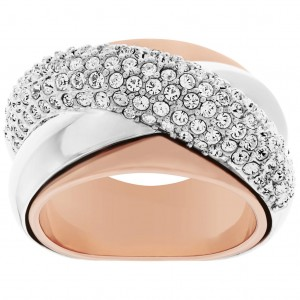 Pierścionek SWAROVSKI Wave Ring 5081233 roz.55