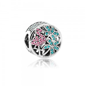 Charms Pandora 792117CZS TROPIKALNY FLAMING