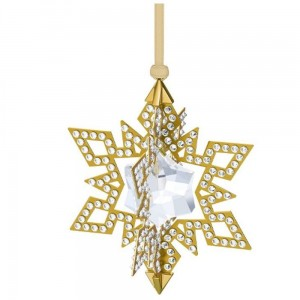 Figurka Swarovski Christmas Ornament Star, Gold 5135809